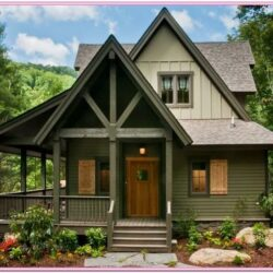 Log Cabin Exterior Paint Ideas