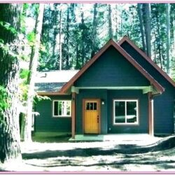 Log House Paint Ideas