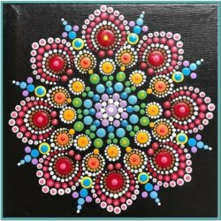 Mandala Dot Painting Ideas