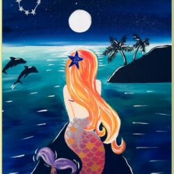 Mermaid Painting Ideas Easy