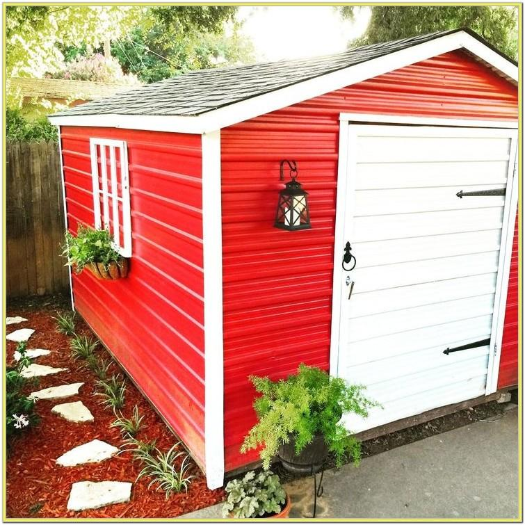 Metal Shed Paint Ideas