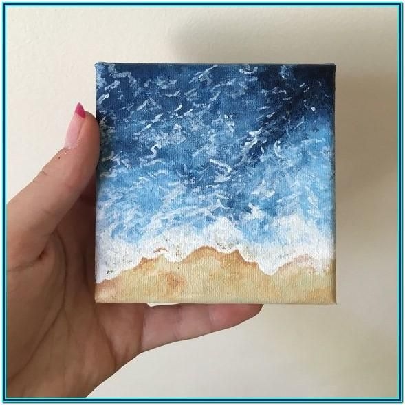 Mini Acrylic Painting Ideas