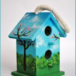 Mini Birdhouse Painting Ideas