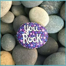 Mini Rock Painting Ideas