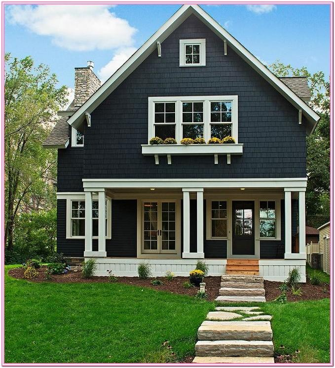 Modern Bungalow Exterior Paint Colors