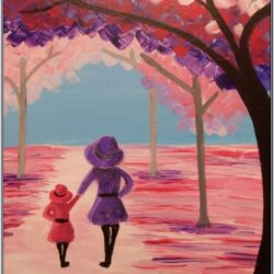 Mothers Day Acrylic Painting Ideas