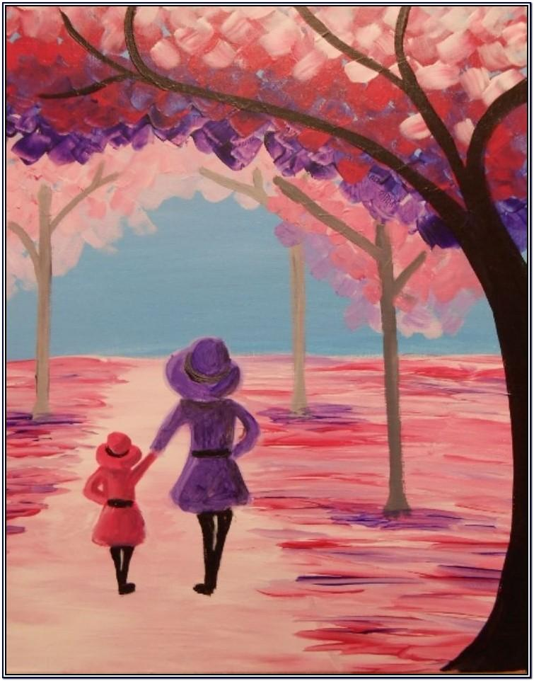 Mother's Day Acrylic Painting Ideas