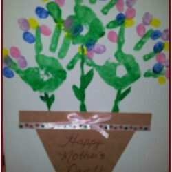 Mothers Day Hand Painting Ideas