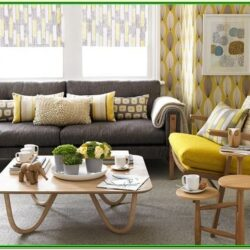 Mustard Color Living Room Decor
