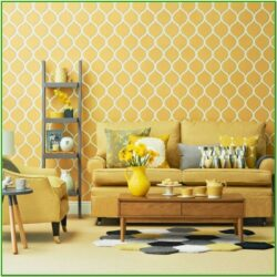 Mustard Yellow Living Room Accessories
