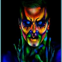 Neon Face Paint Pinterest