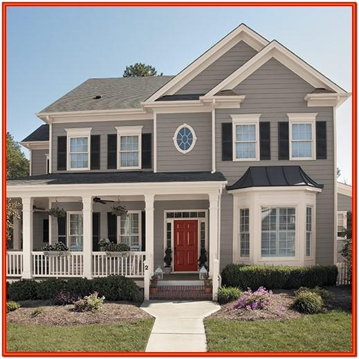 New Home Exterior Color Trends