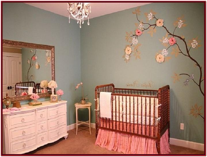 Nursery Paint Ideas Girl