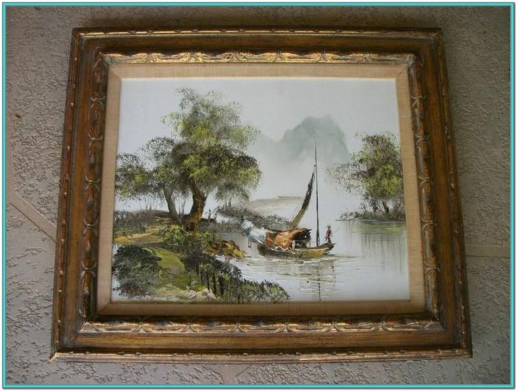 Oil Painting Frame Ideas