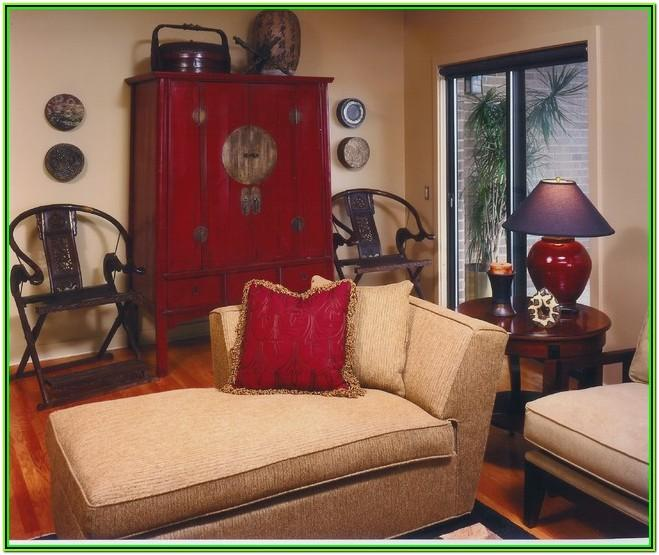 Oriental Inspired Living Room Decor