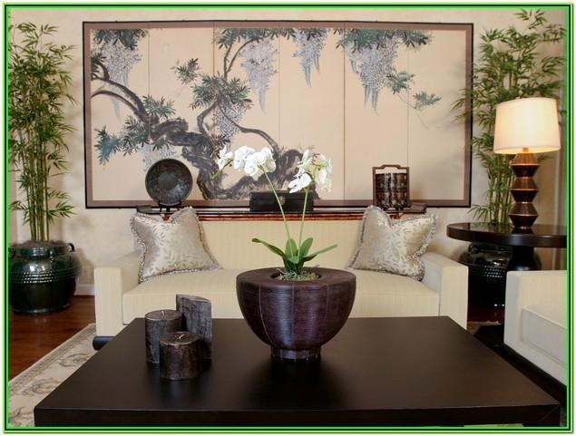 Oriental Living Room Decorating Ideas