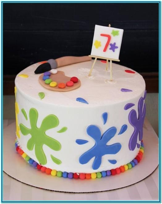Paint Can Cake Ideas