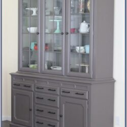 Paint Color Ideas For China Cabinet