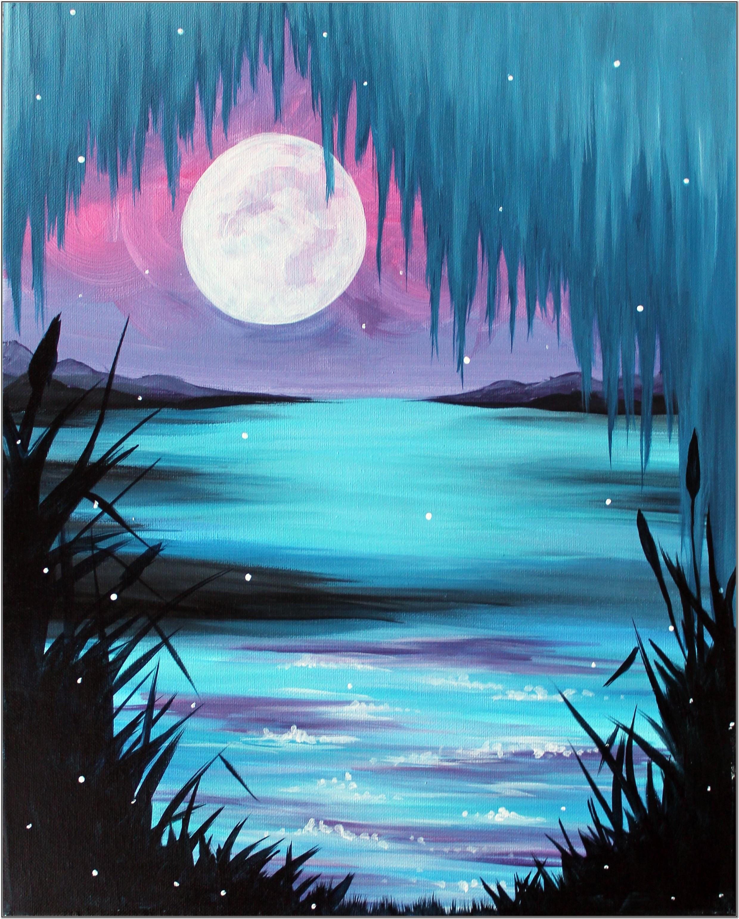 Paint Night Ideas Easy