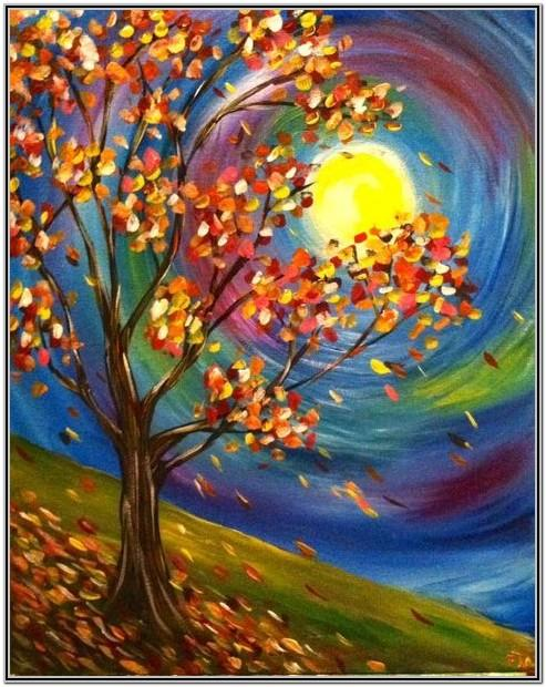 Paint Night Ideas For Fall
