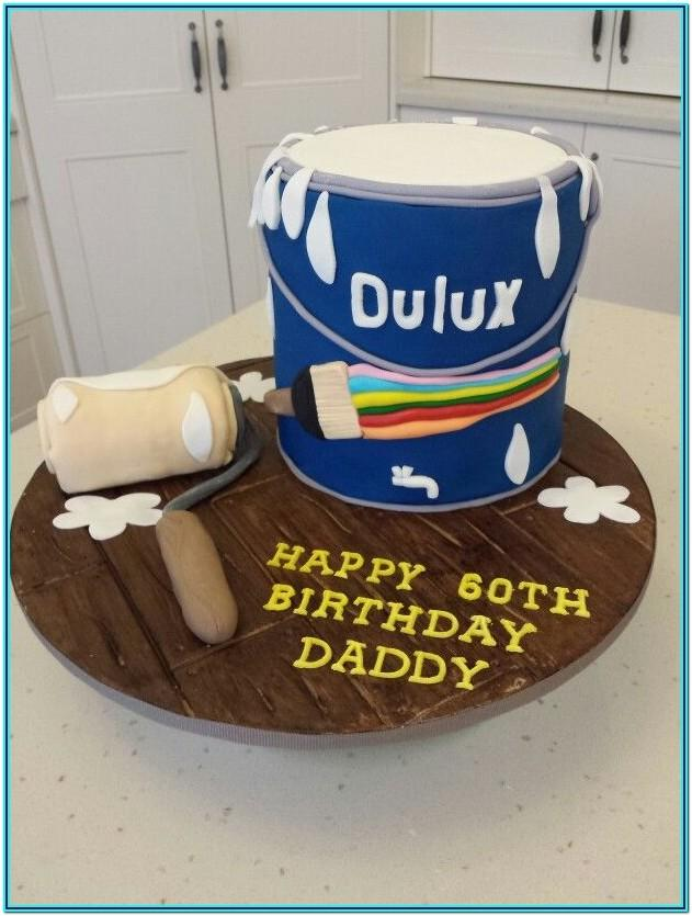 Paint Tin Cake Ideas