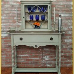 Painted Buffet And Hutch Ideas