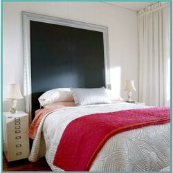 Painted Canvas Headboard Ideas