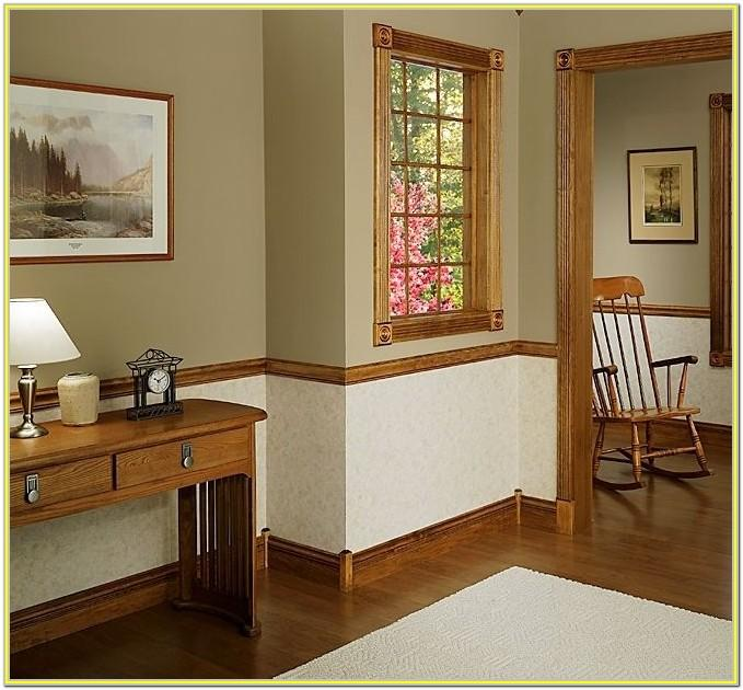 Painted Chair Rail Ideas