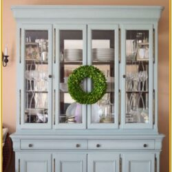 Painted China Hutch Ideas