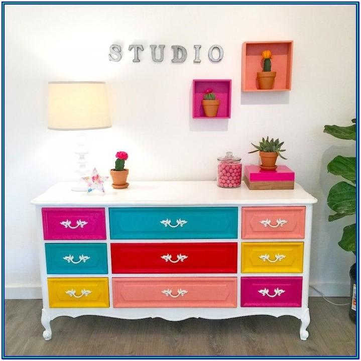 Painted Dresser Ideas Diy
