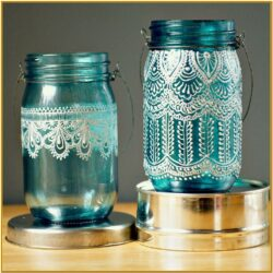 Painted Jar Ideas