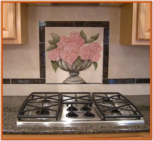 Painted Tile Backsplash Ideas