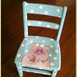 Painted Wooden Chair Ideas