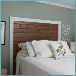 Painted Wooden Headboard Ideas