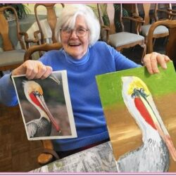 Painting Class Ideas For Seniors