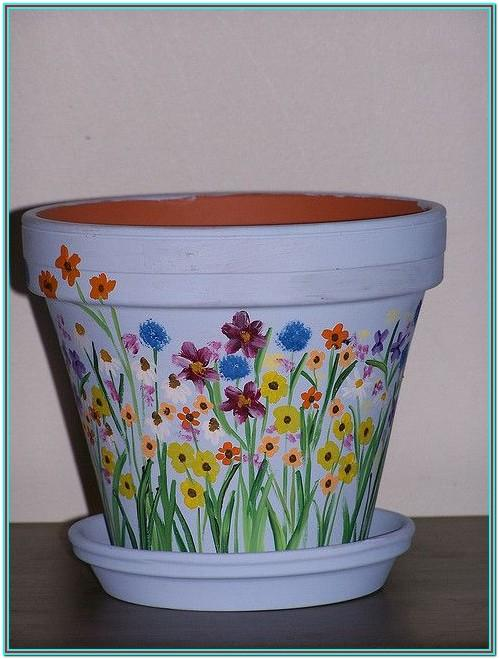 Painting Clay Pot Ideaspainting Clay Pot Ideas