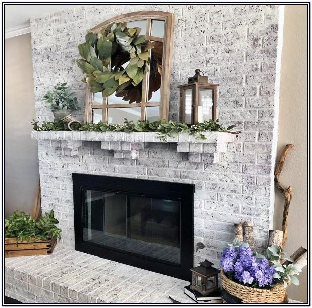 Painting Inside Of Fireplace Ideas
