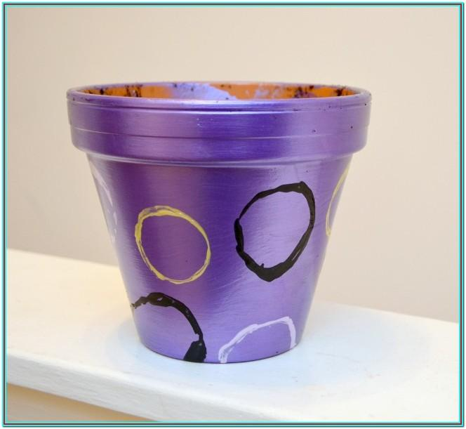 Painting Plant Pots Ideas