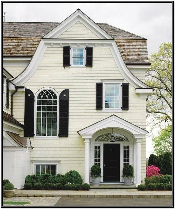 Pale Yellow Exterior Paint Colors