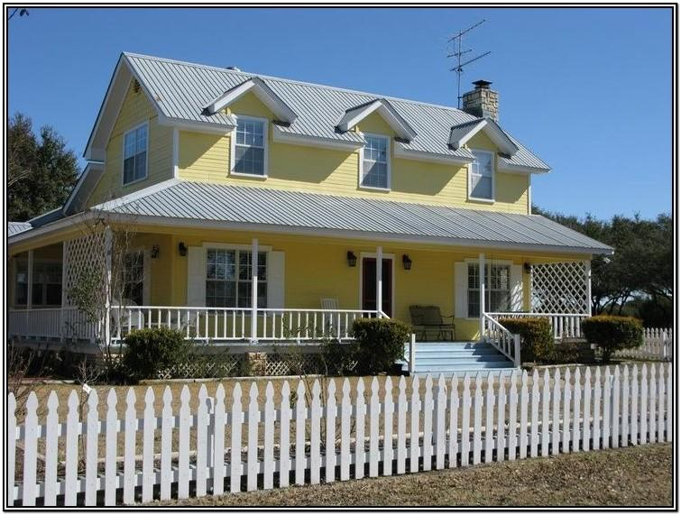 Pale Yellow House Paint Colors