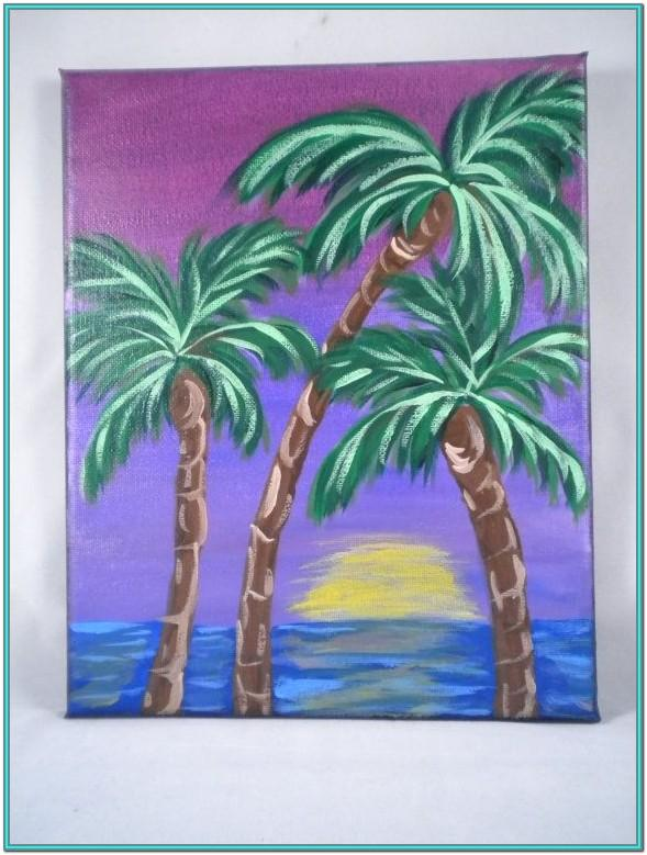 Palm Tree Painting Ideas