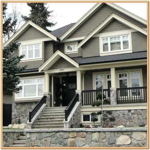 Pictures Of Exterior Home Painting