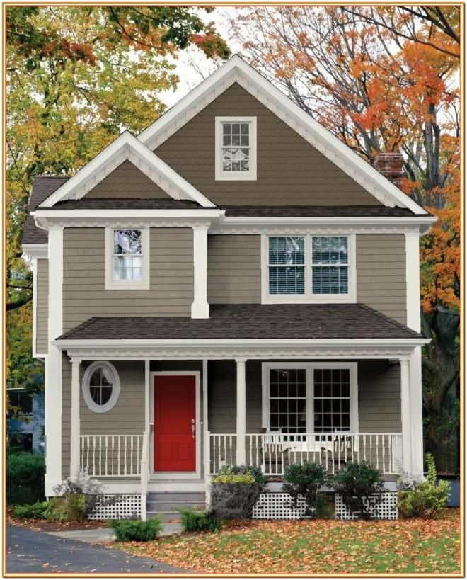 Pictures Of Exterior House Color Combinations