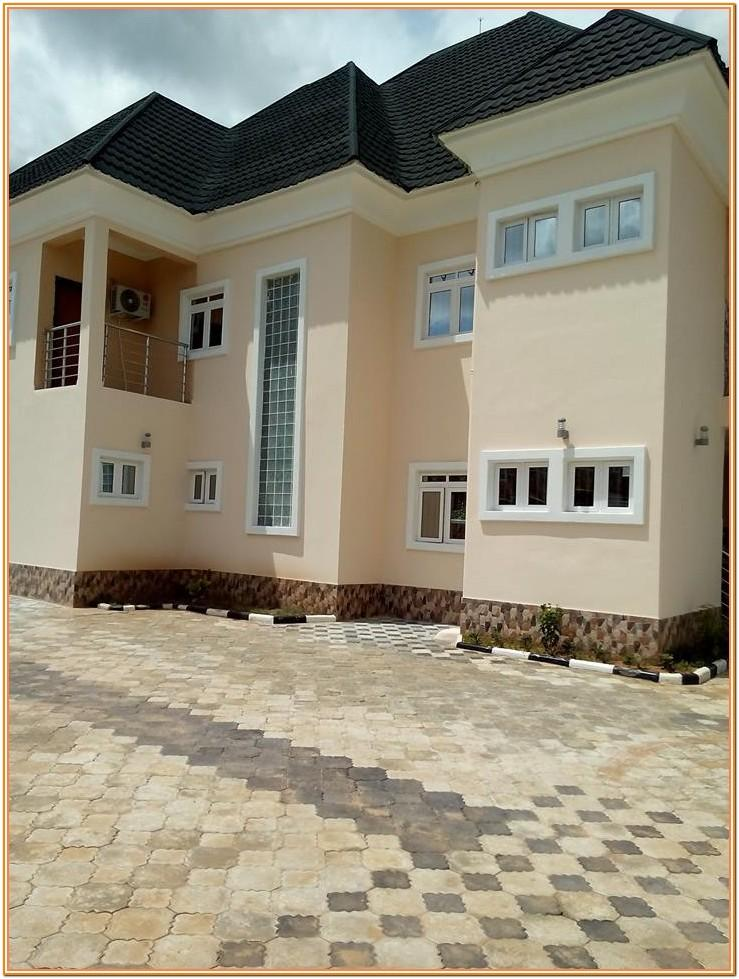 Pictures Of Exterior House Painting In Nigeria
