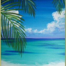 Pinterest Beach Painting Ideas
