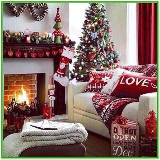 Pinterest Living Room Christmas Decorating Ideas