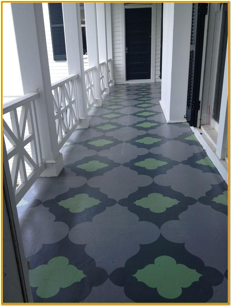 Porch Floor Paint Ideas