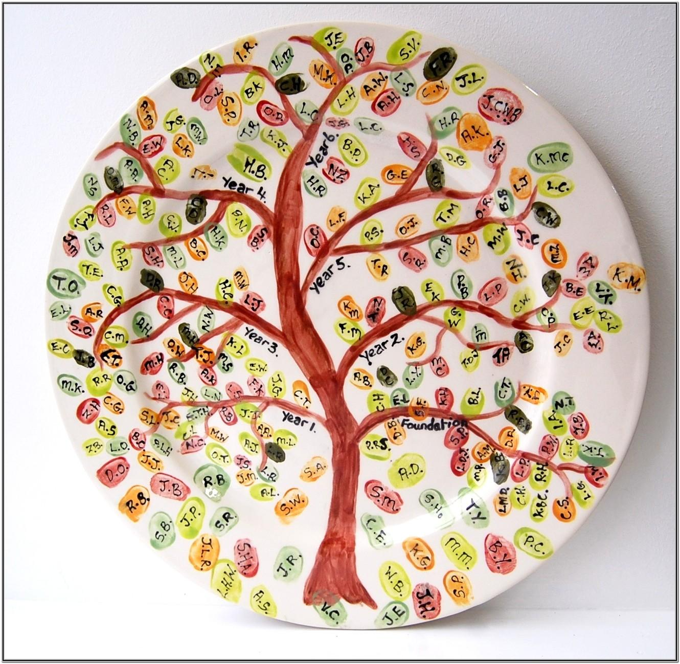 Pottery Painting Ideas For Plates