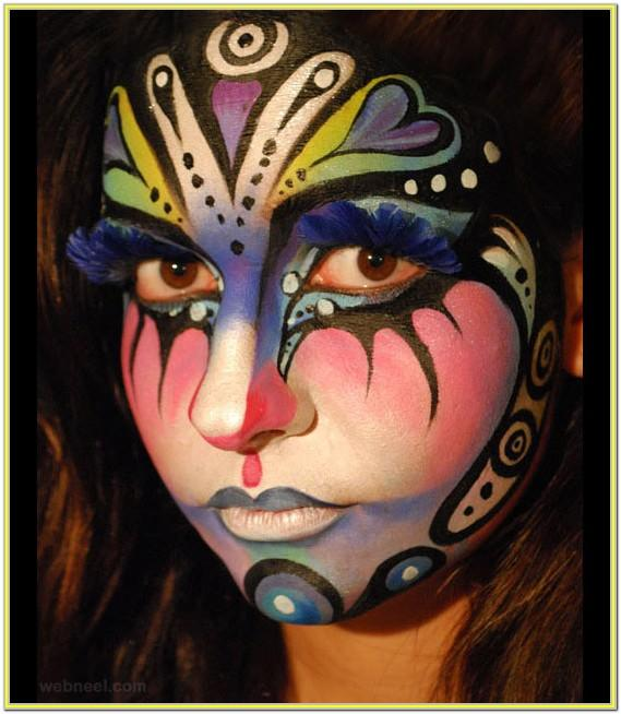 Pretty Face Painting Ideas