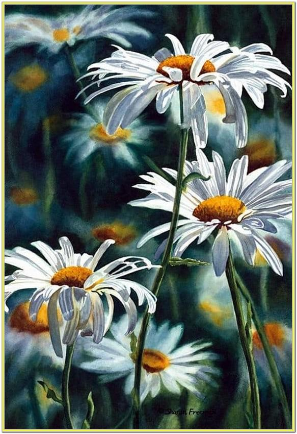Pretty Flower Painting Ideas